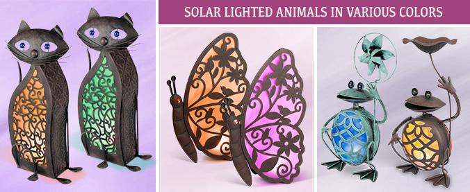 Solar Lighted Animals