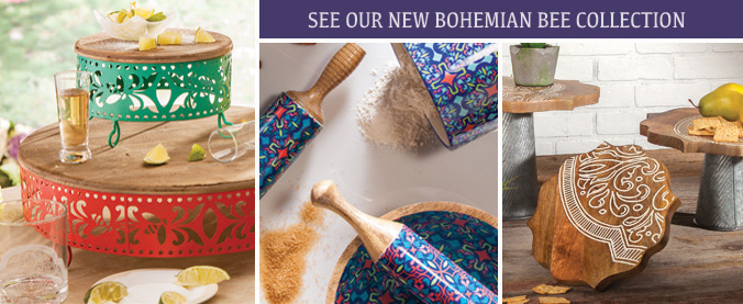 LES Bohemian Bee Collection