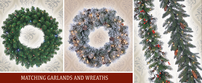 Sterling Wreaths & Garlands