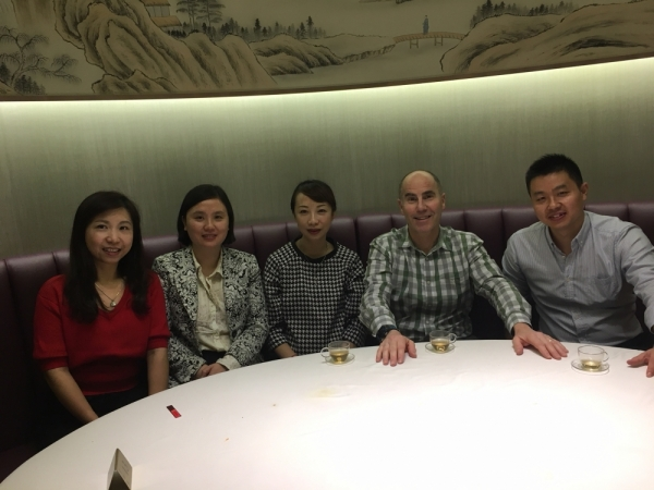 Gerson Family - Shanghai Team with Jim Gerson (second from right)