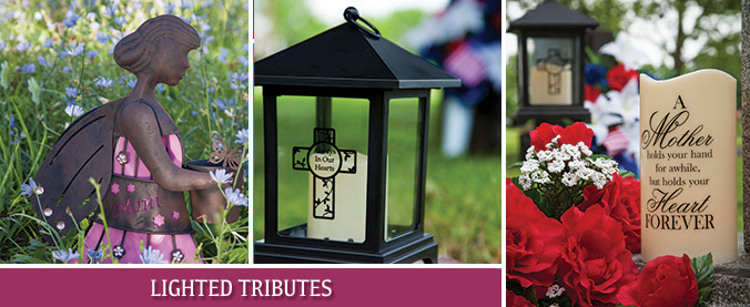 USR Lighted Tributes